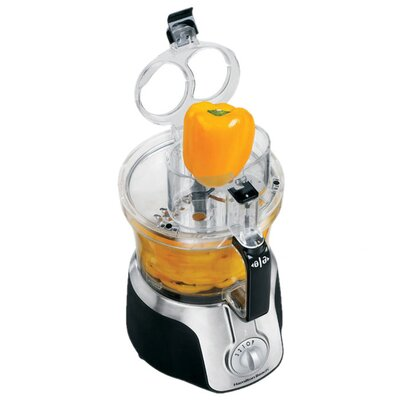 Hamilton Beach Big Mouth 14 Cup Food Processor in Black