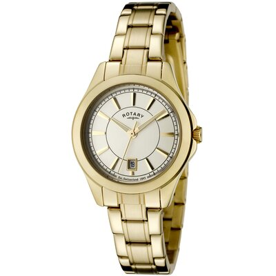 Women's Beaumont Champagne Dial Gold Ion Plated Stainless Steel Watch