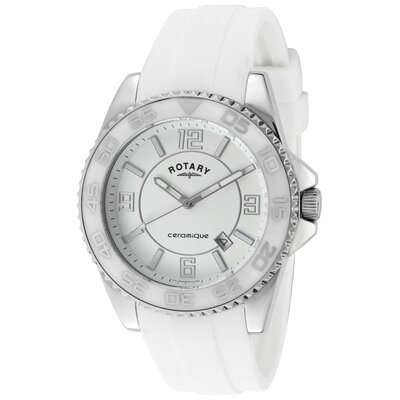 Rotary Watches Women's Ceramique Round Watch