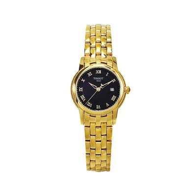 Tissot T-Classic Tissot Women's Watch with Black Dial