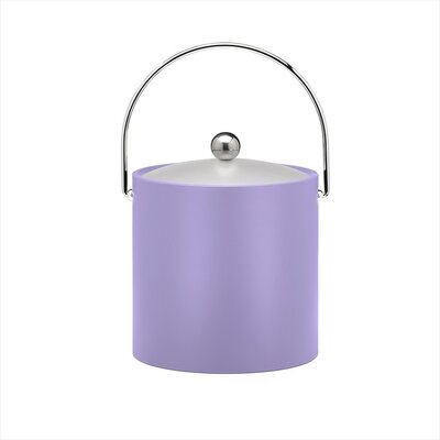 Bartender's Choice Fun Colors 3 Qt Ice Bucket in Lavender