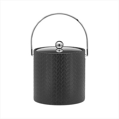 San Remo Eclipse Design 3 Qt Ice Bucket with Metal Cover