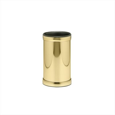 Americano Wine Chiller with Band in Brass