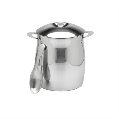 4 Qt Polished Stainless Steel Ice Bucket