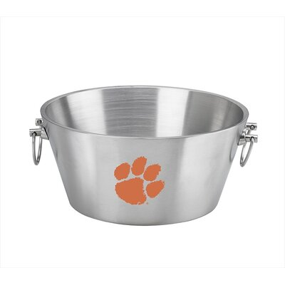 Kraftware Collegiate Clemson Party Tub