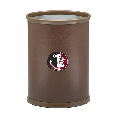 Kraftware Collegiate Florida State Football Theme Waste Basket