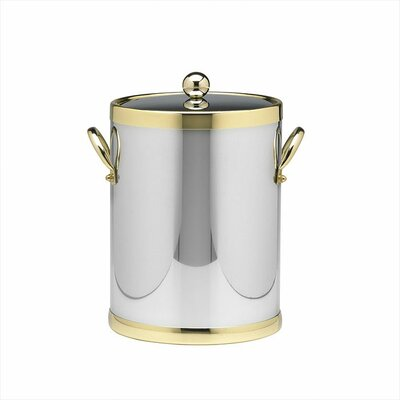Americano 5 Qt Ice Bucket with Side Handle in Chrome