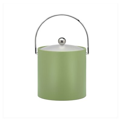 Bartender's Choice Fun Colors 3 Qt Ice Bucket in Mist Green