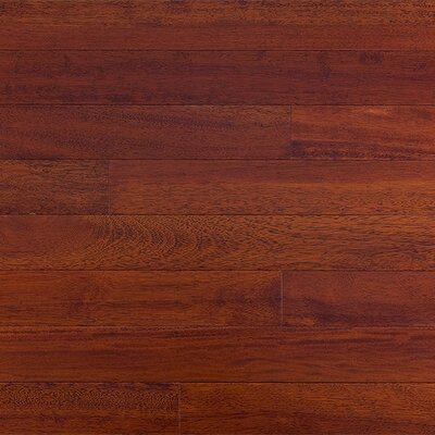 Mazama SAMPLE - Semi-Gloss Solid Kempas in Royal Mahogany