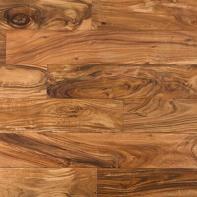 "Mazama Handscraped 4-7/8"" Solid Flooring in Acacia"