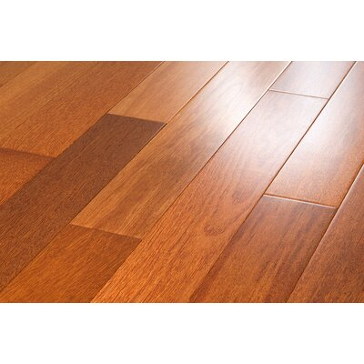 "Mazama Semi-Gloss 3-5/8"" Solid Kempas Flooring in Natural"