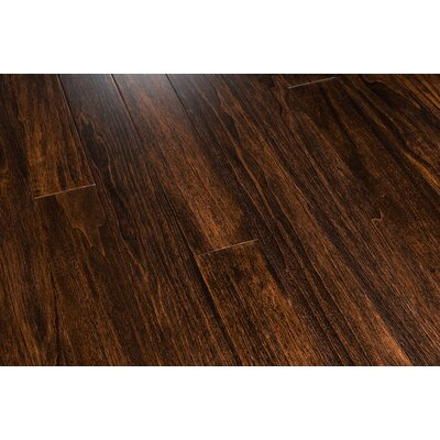 "Mazama 3-1/4"" Solid Exotic Aspen Flooring in Texas Brown"