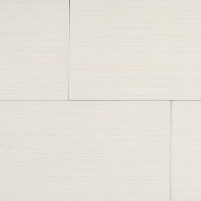 "Kaska Element Series 24"" x 12"" Porcelain Tile in Bone"
