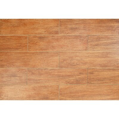 "Kaska Northwest Series 6"" x 18"" Porcelain Tile in Cedar"