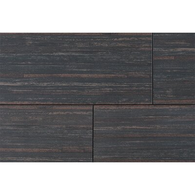 "Kaska Bamboo Series 24"" x 12"" Porcelain Tile in Bamboo Brown"