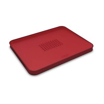 Joseph Joseph Small Cut and Carve Chopping Board in Red