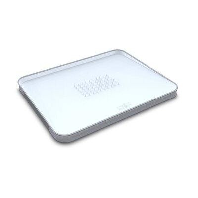 Joseph Joseph Small Cut and Carve Chopping Board in White
