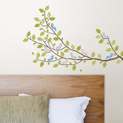 WallPops! Sheets Sitting in a Tree Wall Art
