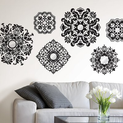 WallPops! Sheets Baroque Wall Art
