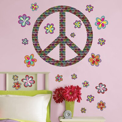 WallPops! Sheets Peace Wall Decal