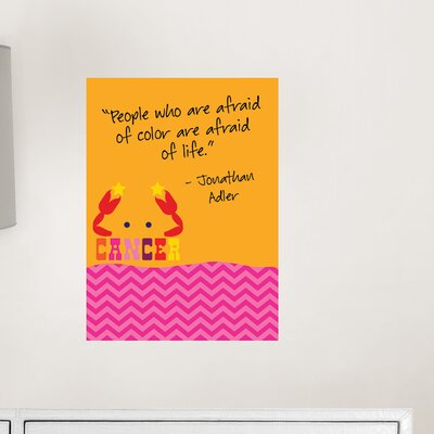 WallPops! Jonathan Adler Dry Erase Cancer Board