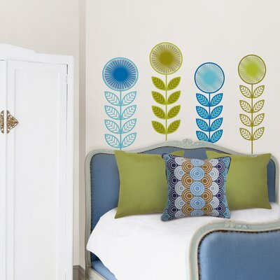 WallPops! Jonathan Adler Flower Garland Wall Art Kit