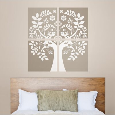 WallPops! Sheets Love Birds Wall Art