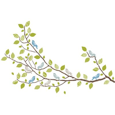 WallPops! Sheets Sitting in a Tree Wall Decal