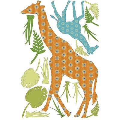WallPops! ZooWallogy Riley The Giraffe Decal