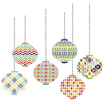 WallPops! Jonathan Adler Lanterns Wall Art Kit