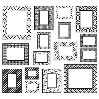 WallPops! Jonathan Adler Frame Wall Art Kit