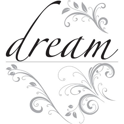 WallPops! Dream Phrases Wall Decal