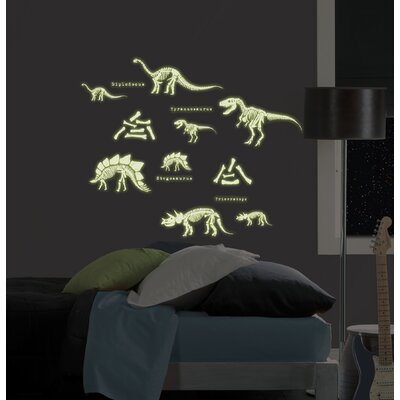 WallPops! Dinosaurs Glow in the Dark Wall Art Kit