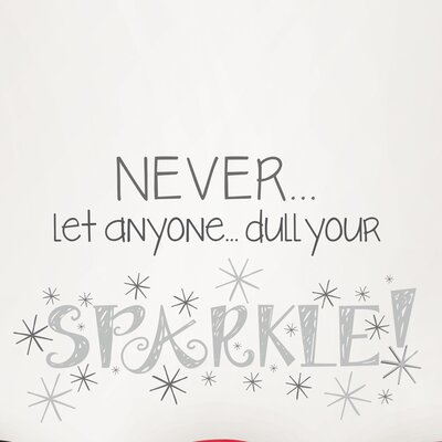 WallPops! Art Kit Dull Your Sparkle Quote Wall Decal