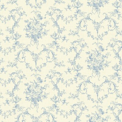 Brewster Home Fashions Willow Cottage Petit Floral Bouquet Wallpaper