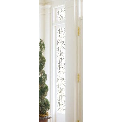 Bamboo Privacy Window Film