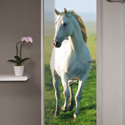 Ideal Decor Horse Wall Mural