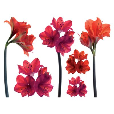 Brewster Home Fashions Spirit Amaryllis Decals