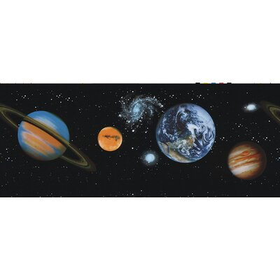 Kidding Around Planets Wall Border
