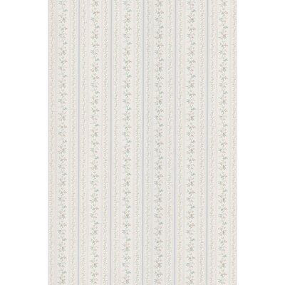 Brewster Home Fashions Kitchen and Bath Resource II Floral Stripe Wallpaper