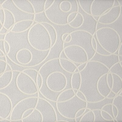 Paint Plus III Circles Wallpaper for Height Traffic Areas