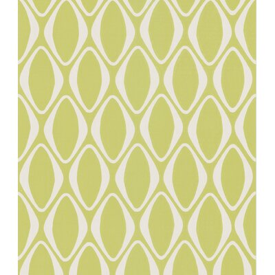 Echo Design Diamond Geometric Wallpaper in Lime Green