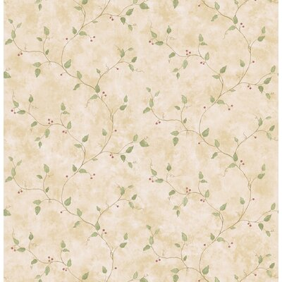 Brewster Home Fashions Northwoods Berry Trail Wallpaper