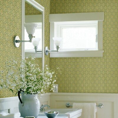 Kitchen and Bath Resource II Bare Damask Wallpaper