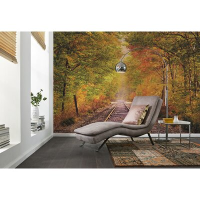 Brewster Home Fashions Komar Summer in Fall Wall Mural