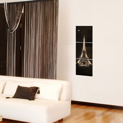 Brewster Home Fashions Euro Tour Eiffel Panoramic Wall Decal