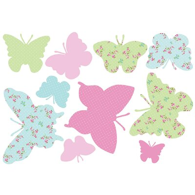 Euro Butterflies Maxi Stickers