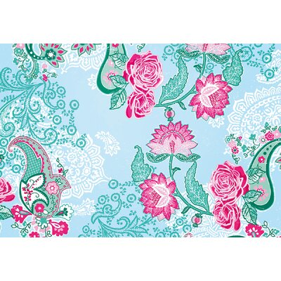 Brewster Home Fashions Komar Paisley Rose Wall Mural