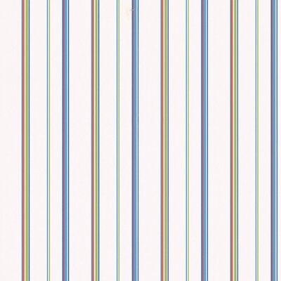 Brewster Home Fashions Kids World Barnstable Blue Stripes Wallpaper