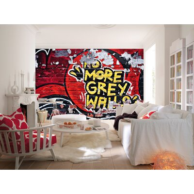 Ideal Decor No More Grey Walls Wall Mural